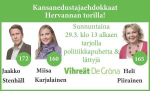Ilmoitus Hervanta 29.3.2015